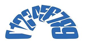 """Bike-It 6"""" inch Motorcycle MX / Race Numbers No. 6 Pack of 10 Blue"""