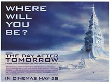 THE DAY AFTER TOMORROW Movie POSTER 27x40 D Dennis Quaid Jake Gyllenhaal Emmy