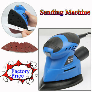 Hand Held Mouse Sanding Machine Small Electric Tight Corners Sander Angle Base