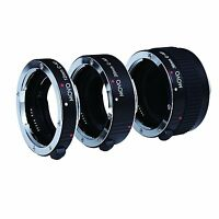Movo Auto Focus Macro AF Lens Extension Tube Set for Canon EOS SLR Camera