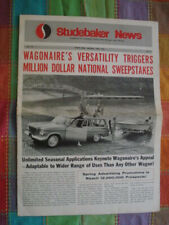 Studebaker News dealer paper April 1963 features Wagonaire