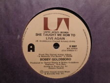 """Bobby Goldsboro """"She Taught Me How To Live Again"""" 1976 UNITED ARTISTS NZ7""""45rpm"""