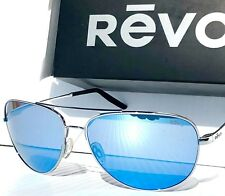 d330de0b28 NEW  REVO WINDSPEED Chrome AVIATOR POLARIZED Blue Crystal Sunglass 3087 03  GBL