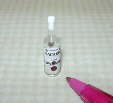Miniature Single Liquor Bottle For the DOLLHOUSE Bar #24, 1/12 Scale Miniatures