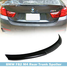 BMW F82 M4 V PERFORMANCE-TYPE CARBON FIBER TRUNK BOOT LID SPOILER WING