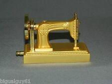 Gold Color Sewing Machine Shaped Butane Jet Torch Lighter USA Stocked & Shipped