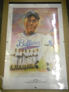LEON DAY NEGRO LEAGUES LITHOGRAPH NUMBER ONE 40 X 25 ART BY VAL MAYERIK 1992