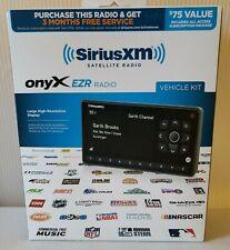 SiriusXM Onyx EZR Satellite Radio Receiver & Vehicle Kit Black Brand New In Box