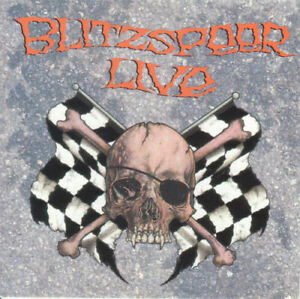 "(50) Blitzspeer ‎–""Blitzspeer Live""-Metal-U.S. Epic CD 1990 ‎– EK 46943- New"