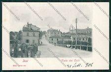 Ancona Jesi Iesi Alterocca 943 cartolina QQ1183