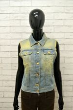 Giacca Jeans Smanicato Donna MET Donna Taglia Size M Jacket Woman Giubbino