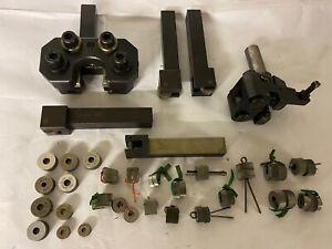 Lot Knurling Tool Holders & Knurling Wheels