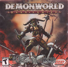 DEMON WORLD Dark Armies DEMONWORLD PC Game NEW Sealed!!