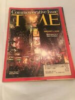 Time Magazine 1 Jan 2000 Commemorative Issue  NEW CENTURY NYC Times Square