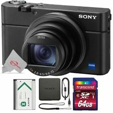 Sony Cyber-shot DSC-RX100 VI 20.1MP Digital Camera with 64GB Accessory Kit