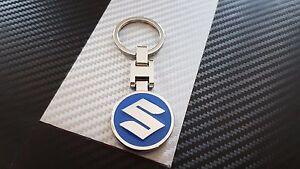 Porte clés BLEUE SUZUKI SWIFT SX4 GRAND VITARA ETC