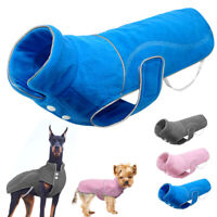 Warm Dog Winter Clothes for Small Large Dogs Reflective Padded Coat Jacket S-5XL