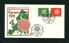 BRD - Nr. 620 - 621  FDC   (EB1)