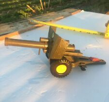 Vintage Cragstan Tin Litho Toy Army Howitzer Cannon Made In Japan
