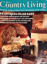 COUNTRY LIVING MAGAZINE~APRIL 1995~VINTAGE~AN ANTIQUES-FILLED BARN~