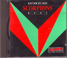 ZOUNDS - SCORPIONS - Rhythm of Love - Best - rare audiophile CD 1991