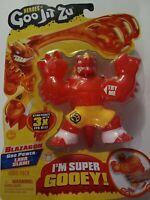 Heroes of Goo Jit Zu - Gooey Dragon Action Super Gooey Stretchy Figure Blazagon