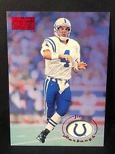 JIM HARBAUGH 1996 SkyBox Premium STAR RUBIES Card #76 RUBY Parallel RARE Colts