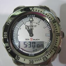 TISSOT SEA-TOUCH MEN'S WATCH CHRONO ALL S/S SAPPHIRE SWISS T0264201105100 NEW