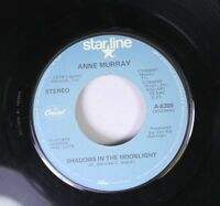 Country 45 Anne Murray - Shadows In The Moonlight / I Just Fall In Love Again On