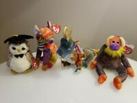 Ty beanie babies collection lot of 4