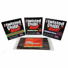 Super Hot Curry Kits - Naga Phal - Tindaloo - Vindaloo Curry - FREE CHILLI CHOC