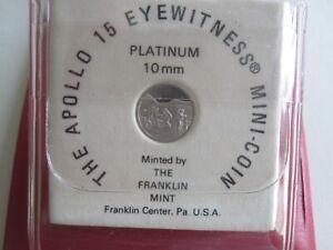 APOLLO 15 SOLID PLATINUM MINI-COIN