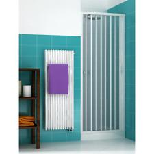 Porta doccia soffietto per box doccia nicchia profilo riducibile da 140 a 60 cm