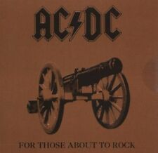 AC/DC - For Those About to Rock (Mini Vinyl Replica)  Limited Edition OVP