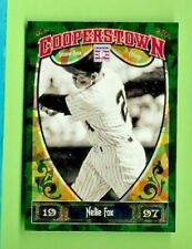 NELLIE FOX 2013 Panini Cooperstown GREEN Crystal PARALLEL #61 SOX