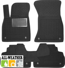 All Weather Floor Liner Velour Carmats Rubber Backing Fit Audi Q5 II 2017-