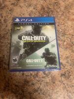 Call of Duty Infinite Warfare Legacy Edition Modern Warfare PS4 New Sealed
