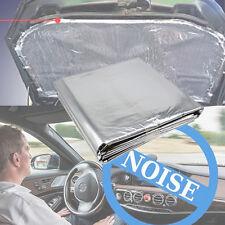 Car Heat Shield Mat Turbo Exhaust Muffler Insulation Hood Fiberglass Cotton Pad