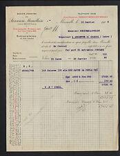"MARSEILLE (13) SAVON ""Société SAVONNERIE MARSEILLAISE"" en 1919"