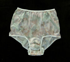 WEAREVER 100% Polyester Women's Abstract Full-Cut Sanitary Brief Plus Size 3XL