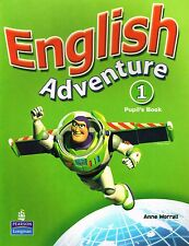 Longman ENGLISH ADVENTURE 1 Pupil's Book with Picture Cards by Anne Worrall @NEW