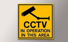 1 Etiqueta De Seguridad Cctv Para Su Hogar O Trabajo v002