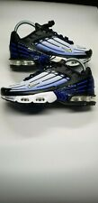 Nike Air Max Plus lll Black/Hyperblue/White Size 6.5 Women