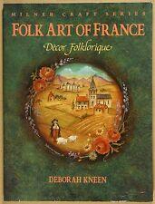 Folk Art Of France D Kneen Milner Craft Series G Qld Copy Quikpost