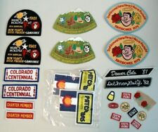 VINTAGE LOT 25pc GOOD SAM SAMBOREE PATCH 1979 1981 Rose Parade + Colorado More!
