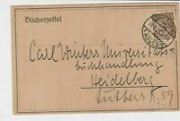 germany 1923 stamps card ref 18960