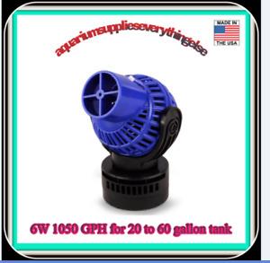 Aquarium Circulation Pump Wave Maker Power Head with Magnetic Mount Suction