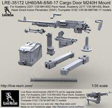 Live Resin 1/35 LRE-35172 UH60/Mi-8/MI-17 Cargo Door M240H Mount