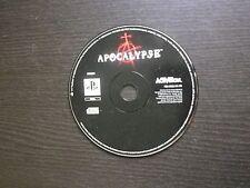JEU Sony PLAYSTATION PS1 PS2 : APOCALYPSE (Activision, en loose, envoi suivi)