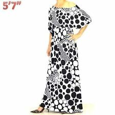 Polyester Polka Dot Maxi Dresses for Women